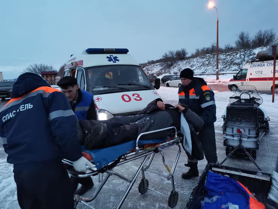 В Тольятти спасали рыбака, у которого произошел инфаркт на Волге