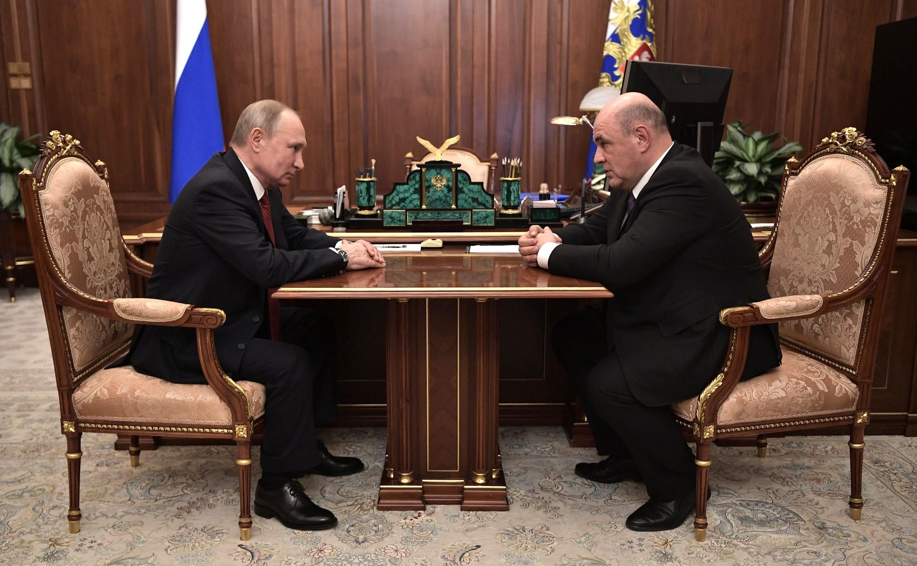 Новым председателем правительства РФ станет Михаил Мишустин