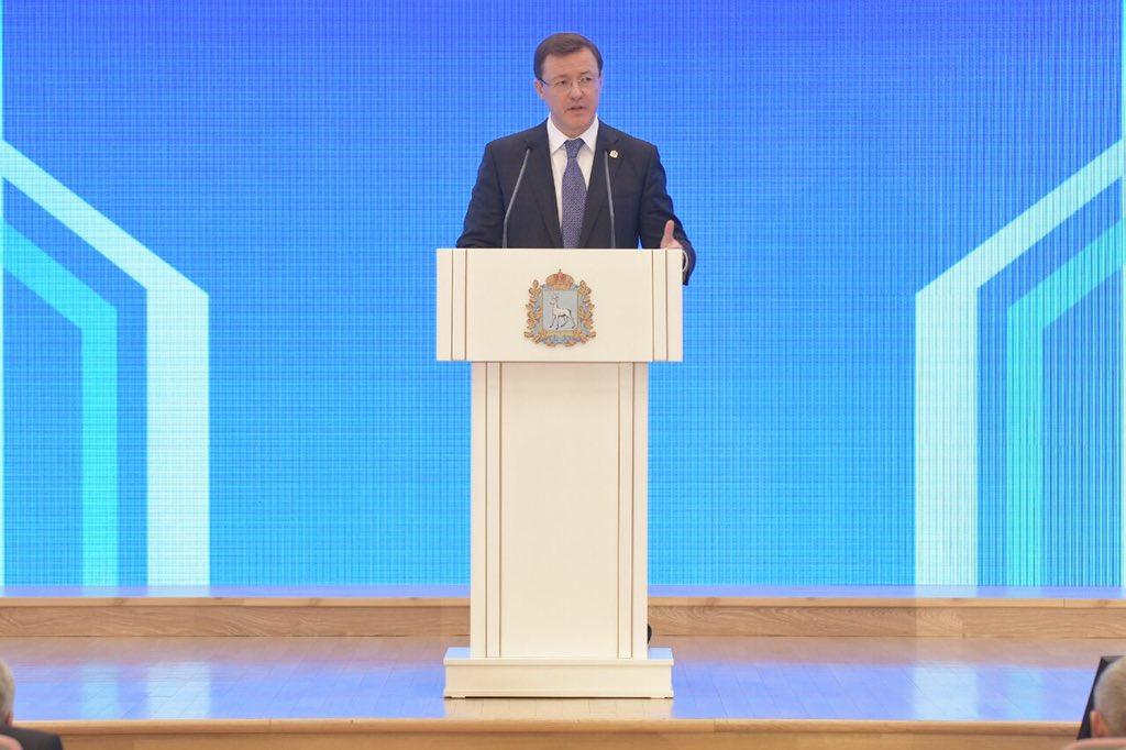 Дмитрий Азаров выступит с ежегодным Посланием к жителям региона