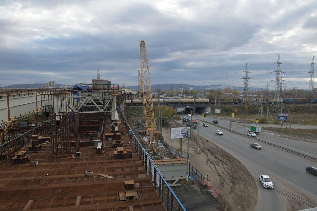 Строители развязки на М-5 в Тольятти попросили ограничить движение грузовиков
