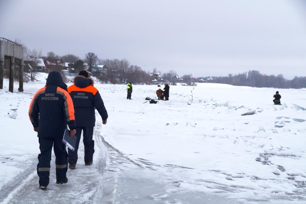 В Самарской области в период ледостава на воде погибли 4 человека