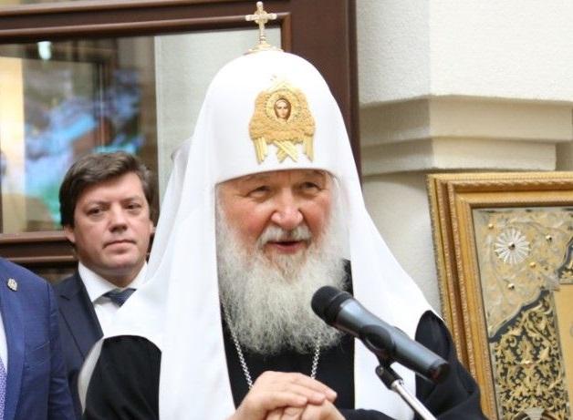 Патриарх Кирилл предложил включить в Конституцию России упоминание о Боге
