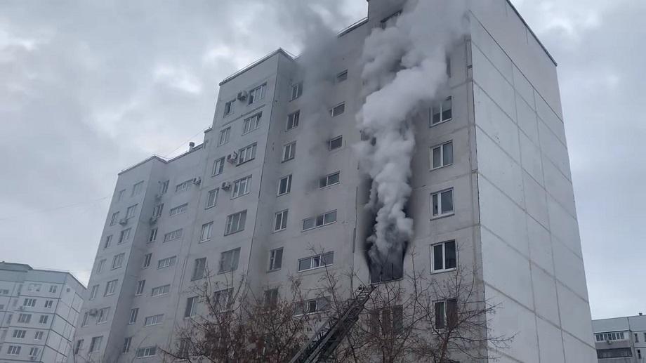 В Тольятти 7 человек эвакуировали из-за пожара в квартире