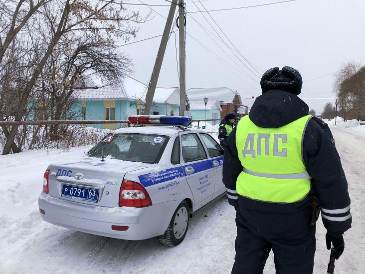 ГИБДД проведет спецрейды на трассах под Тольятти