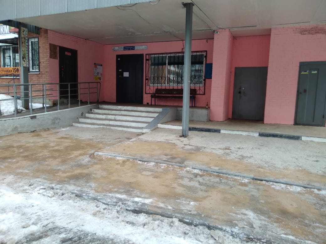 В Тольятти УК очистила от наледи тротуар только после вмешательства прокуратуры