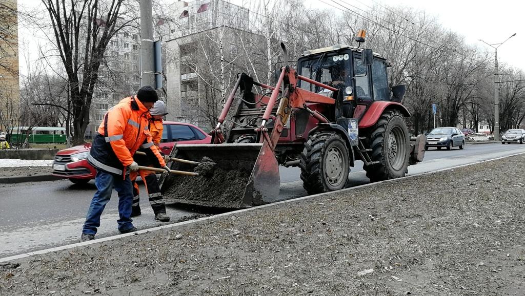Тольятти должны привести в порядок к середине апреля