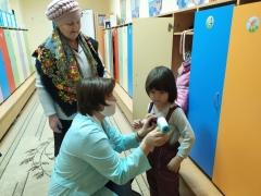 В детсадах Тольятти усилены меры профилактики