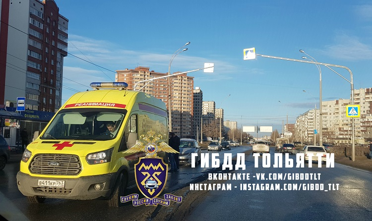 В Тольятти вызывали реанимацию школьнику, которого сбили на переходе