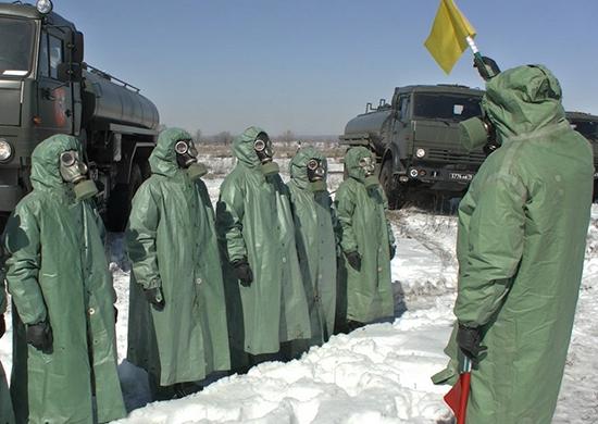 В Самарской области военные готовились к локализации ЧС при вирусной угрозе