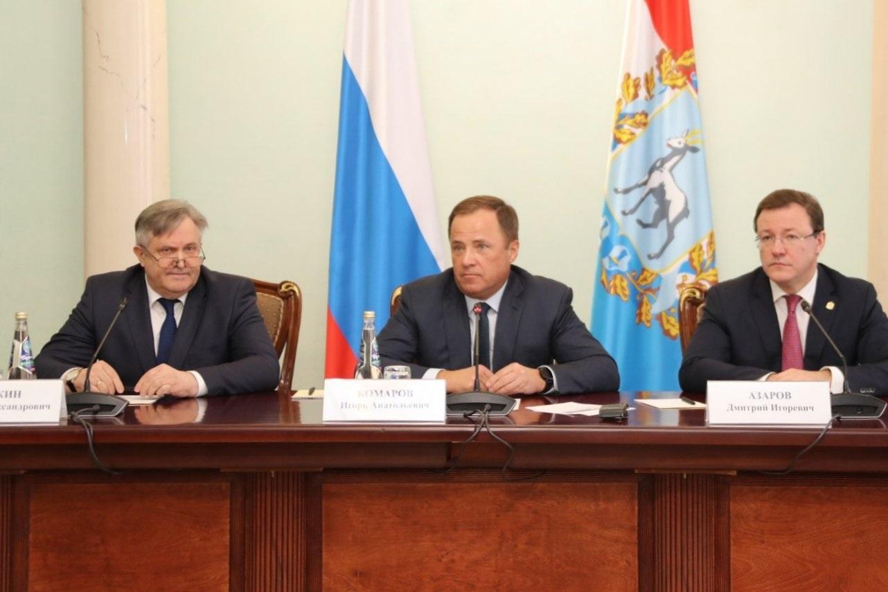 Главным федеральным инспектором по Самарской области стал бывший начальник ФСБ
