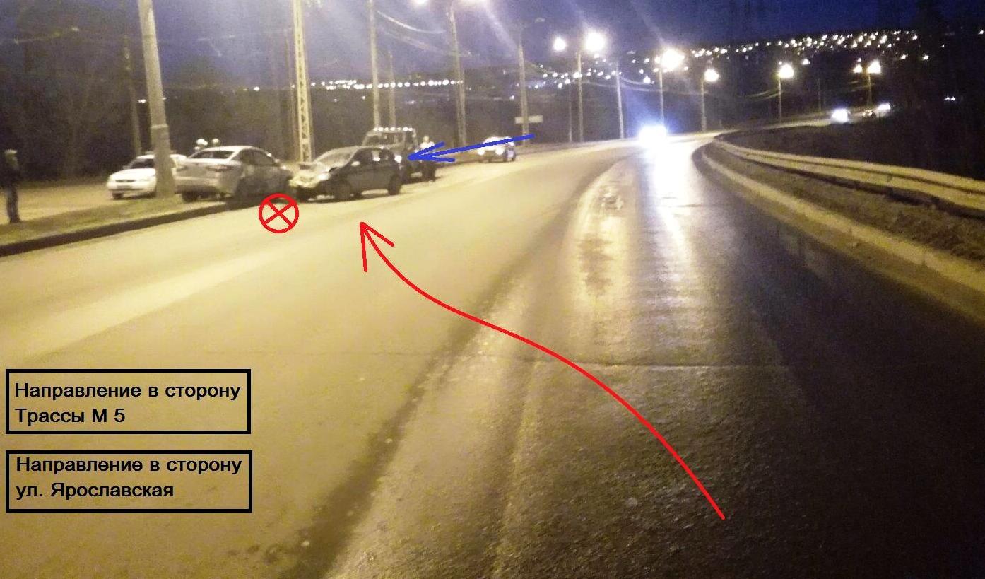 Пьяный водитель, устроивший аварию в Тольятти, в феврале лишился прав