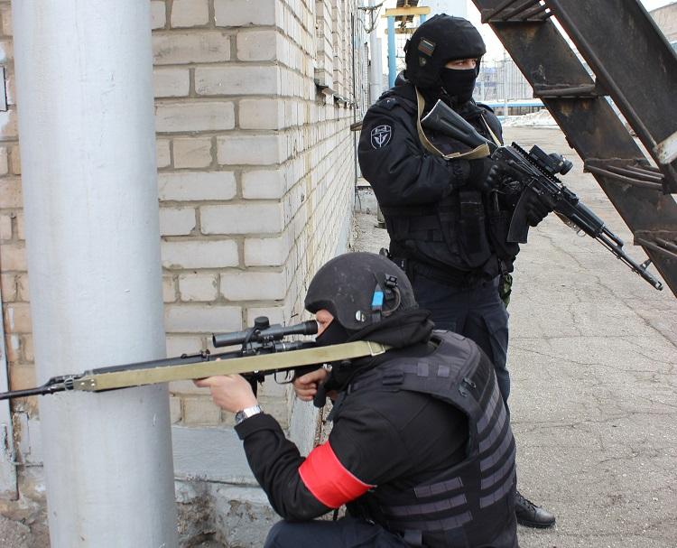 В Самарской области ФСБ показала, как будет обезвреживать террористов