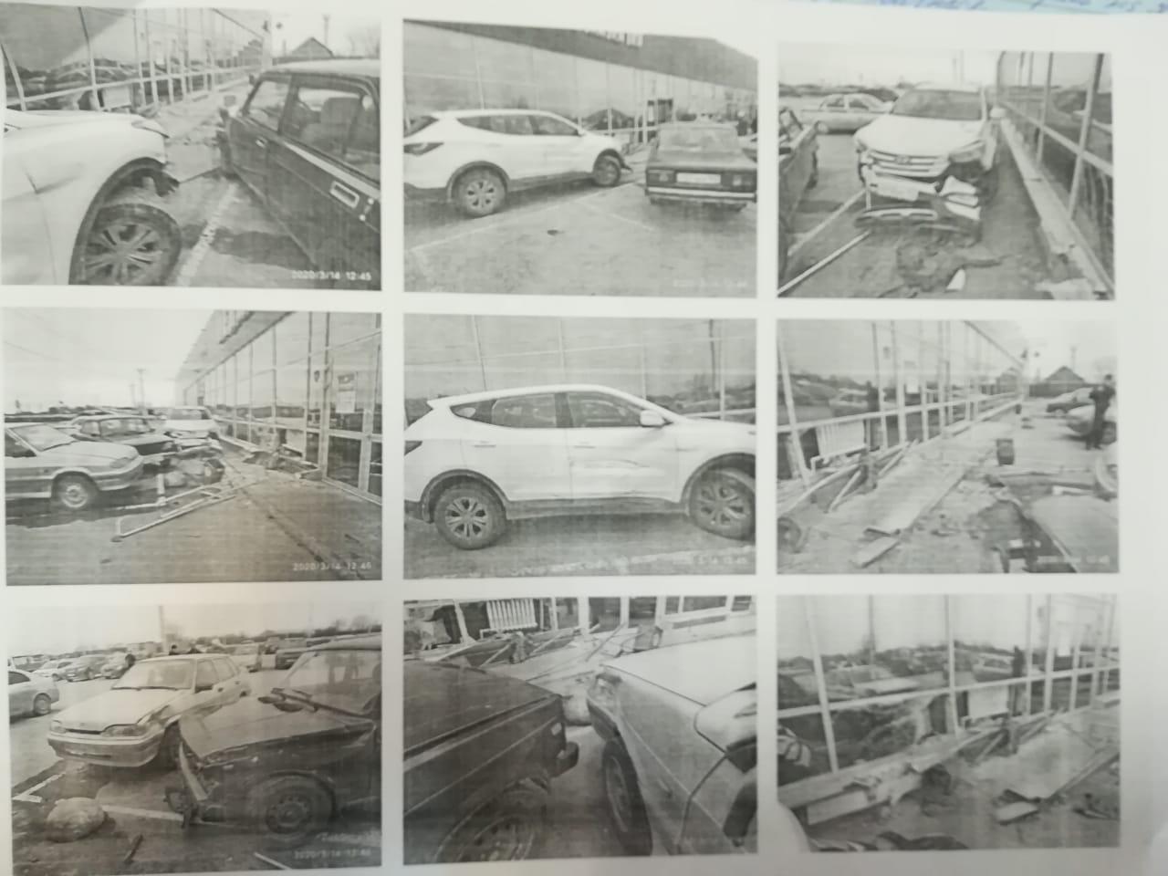 Пьяная тольяттинка врезалась в две машины и магазин