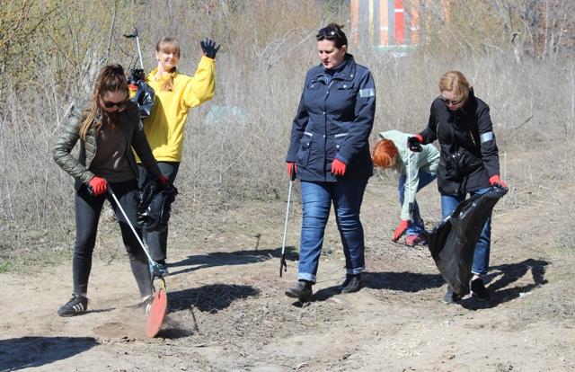 В Самарской области весенние субботники начнутся раньше обычного