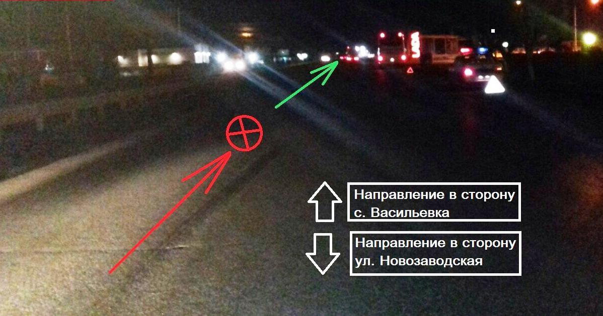 В Тольятти автобус сбил мужчину, который шел вдоль дороги