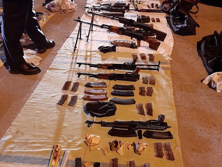 В Самарской области пойман мужчина с пулеметами
