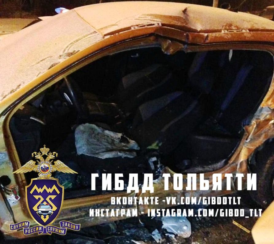 Во время снегопада на дорогах Тольятти травмировались две женщины