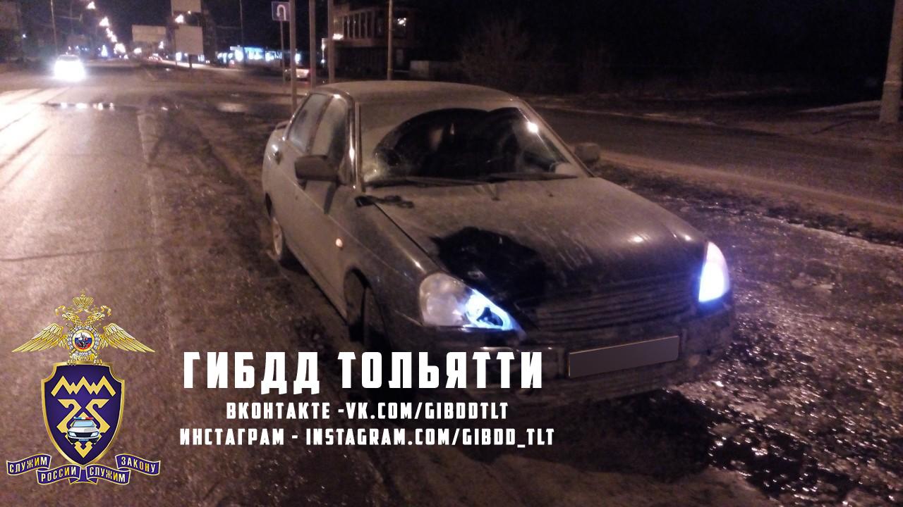 В Тольятти пенсионерка нарушила ПДД и получила тяжелые травмы