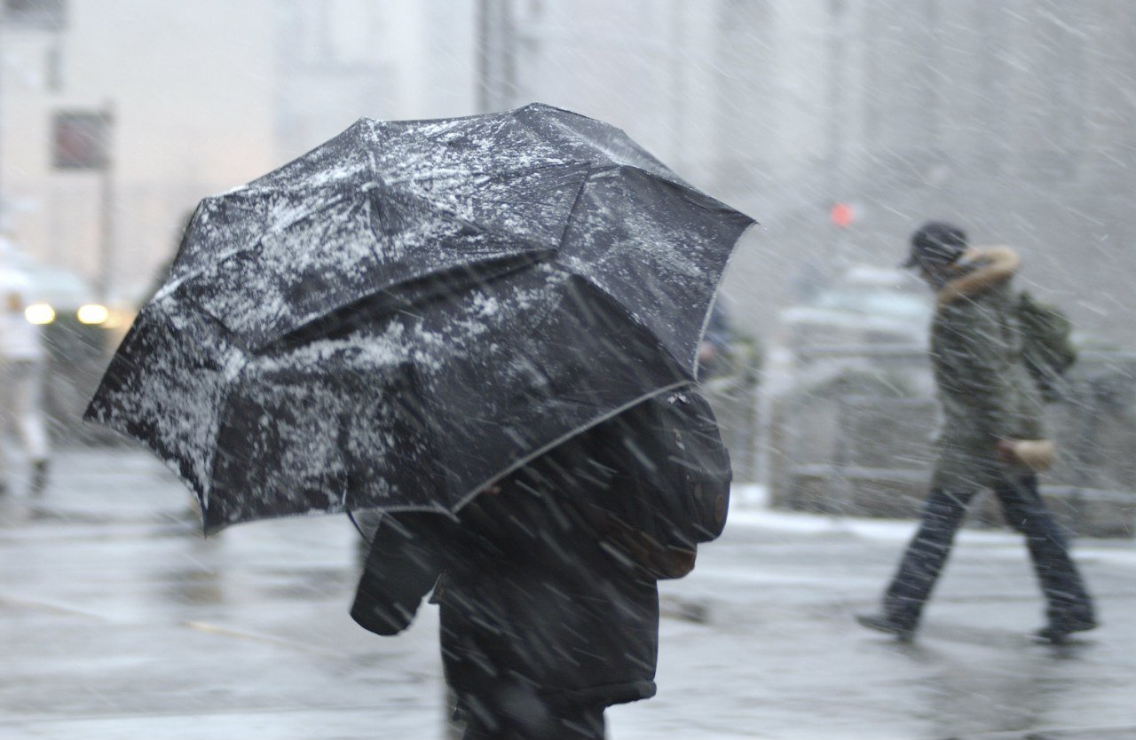 Жителей Самарской области предупредили о холоде, дожде и снеге