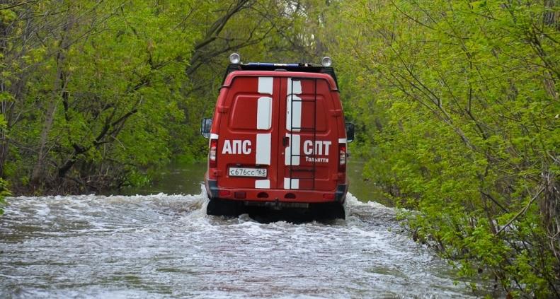 В Тольятти на Копылово начались подтопления