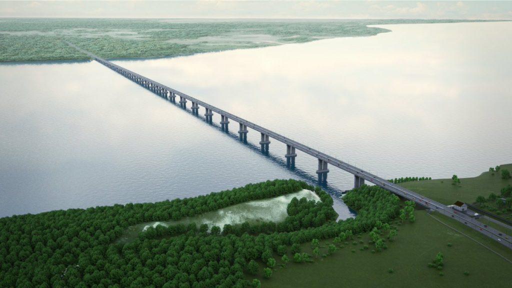 Власти сообщили о подготовке к основному этапу строительства моста через Волгу под Тольятти