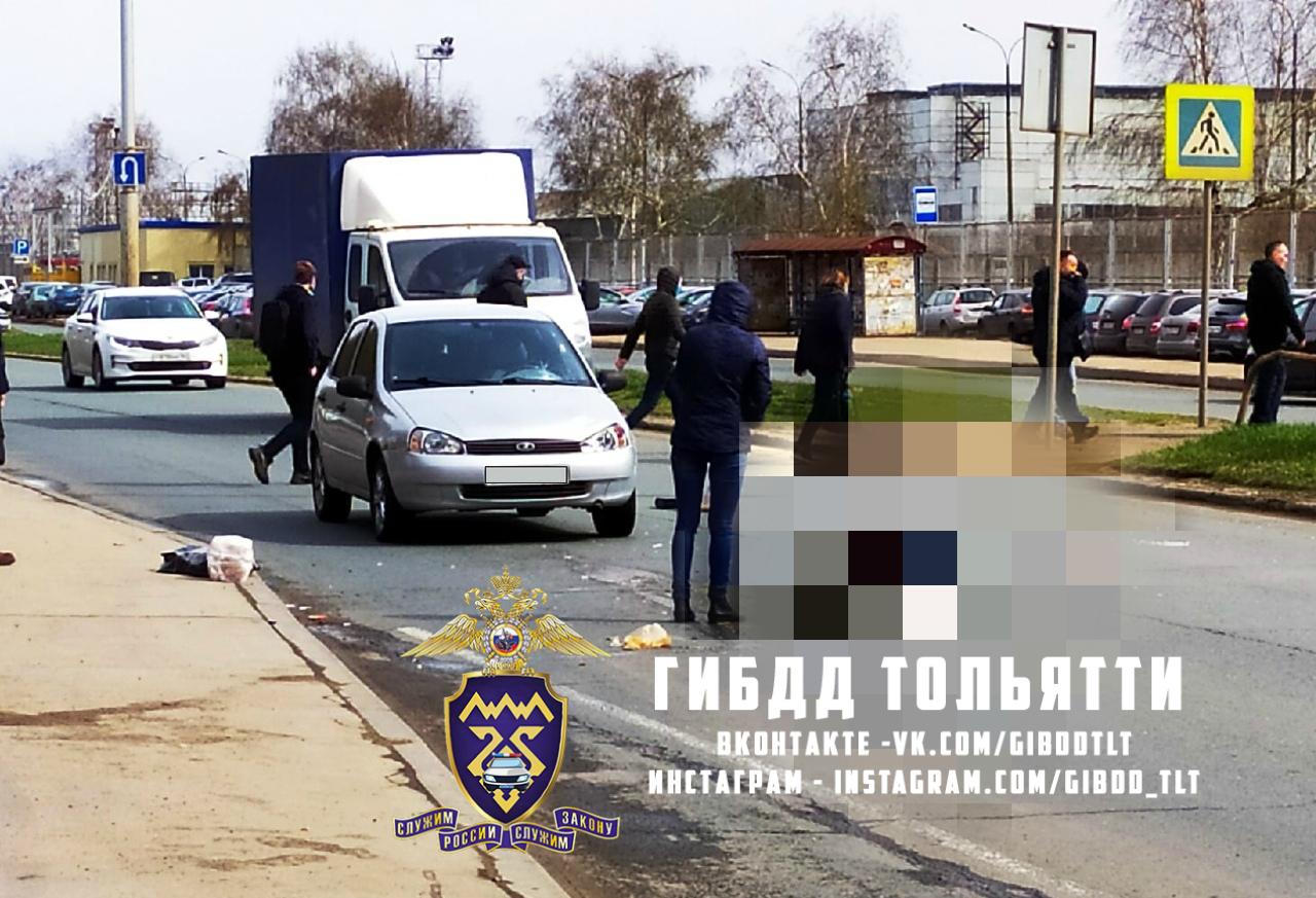 В Тольятти женщину сбили на пешеходном переходе рядом с КПП