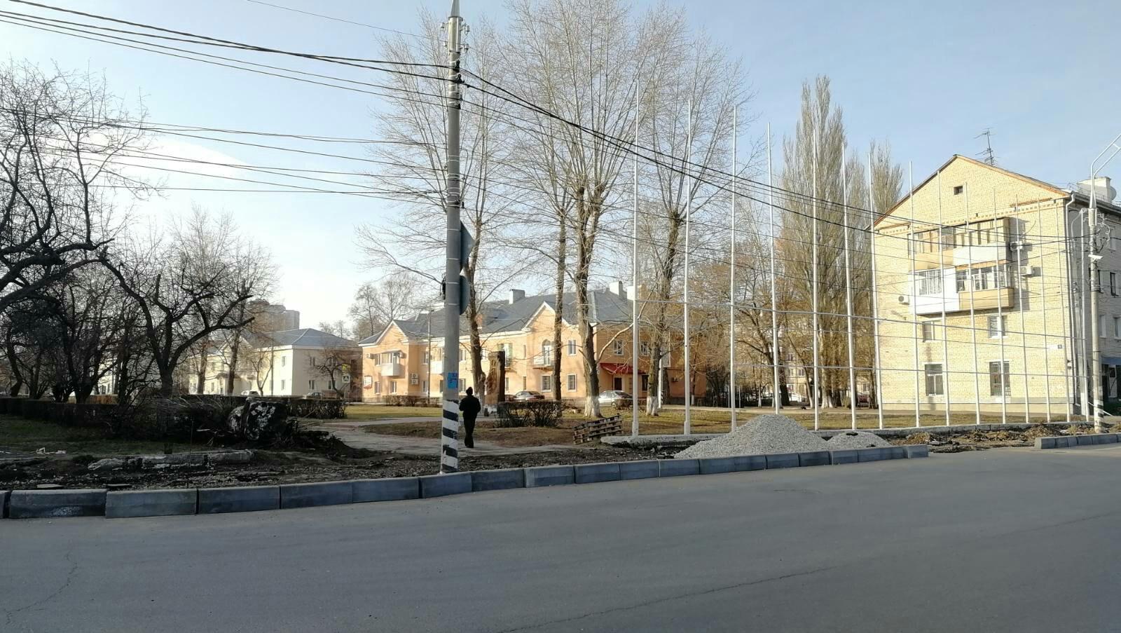 В Тольятти началось благоустройство нового сквера