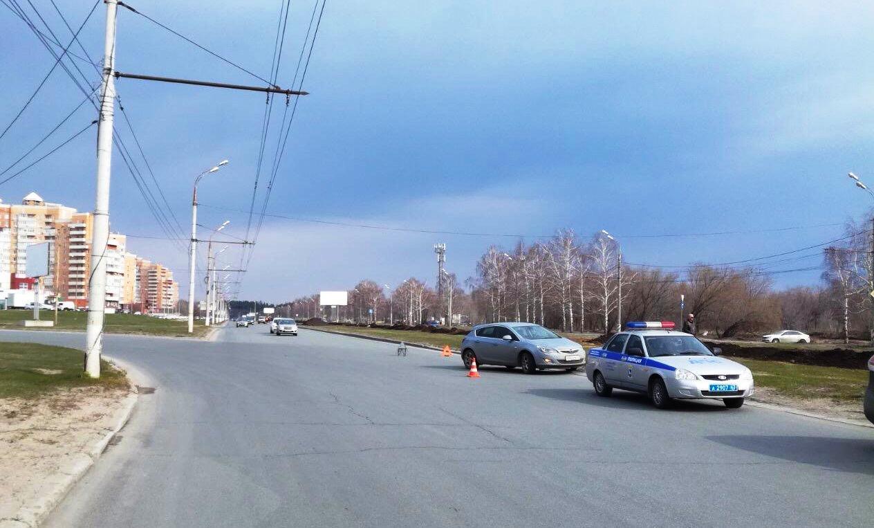 В Тольятти автомобиль сбил велосипедиста