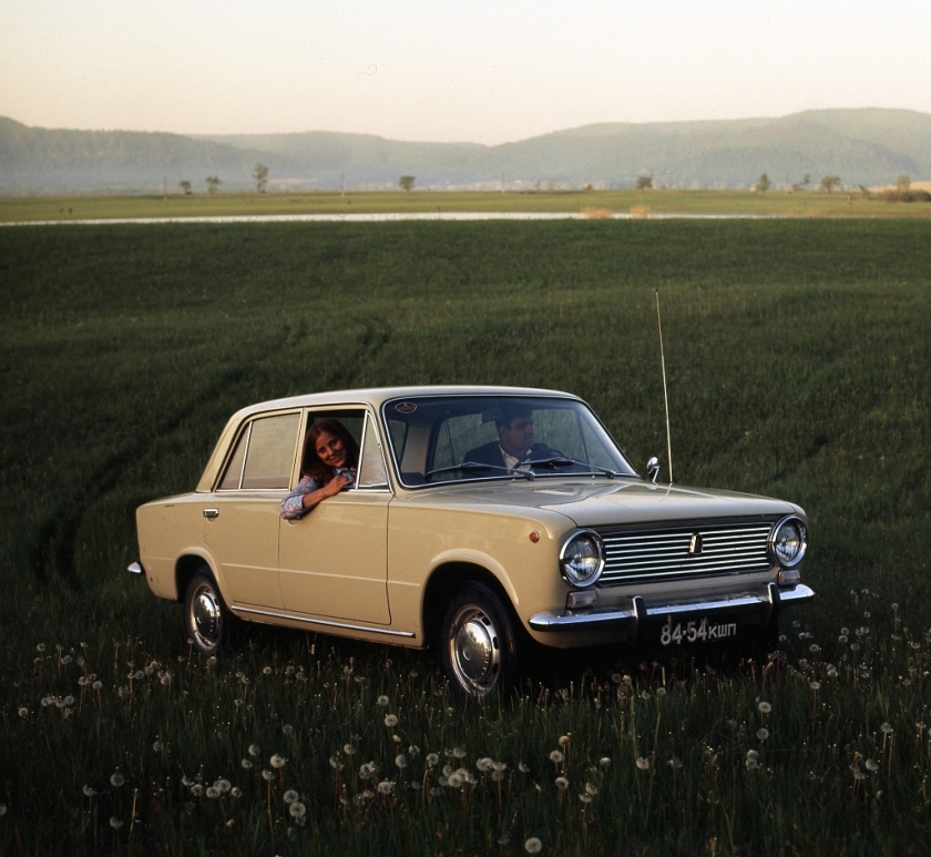50 лет первому легковому автомобилю ВАЗ!