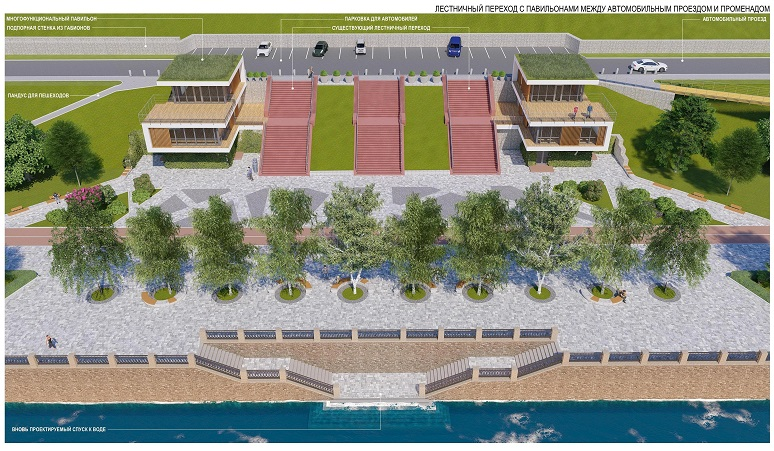Для реконструкции набережной в Тольятти придется ждать специального разрешения Путина