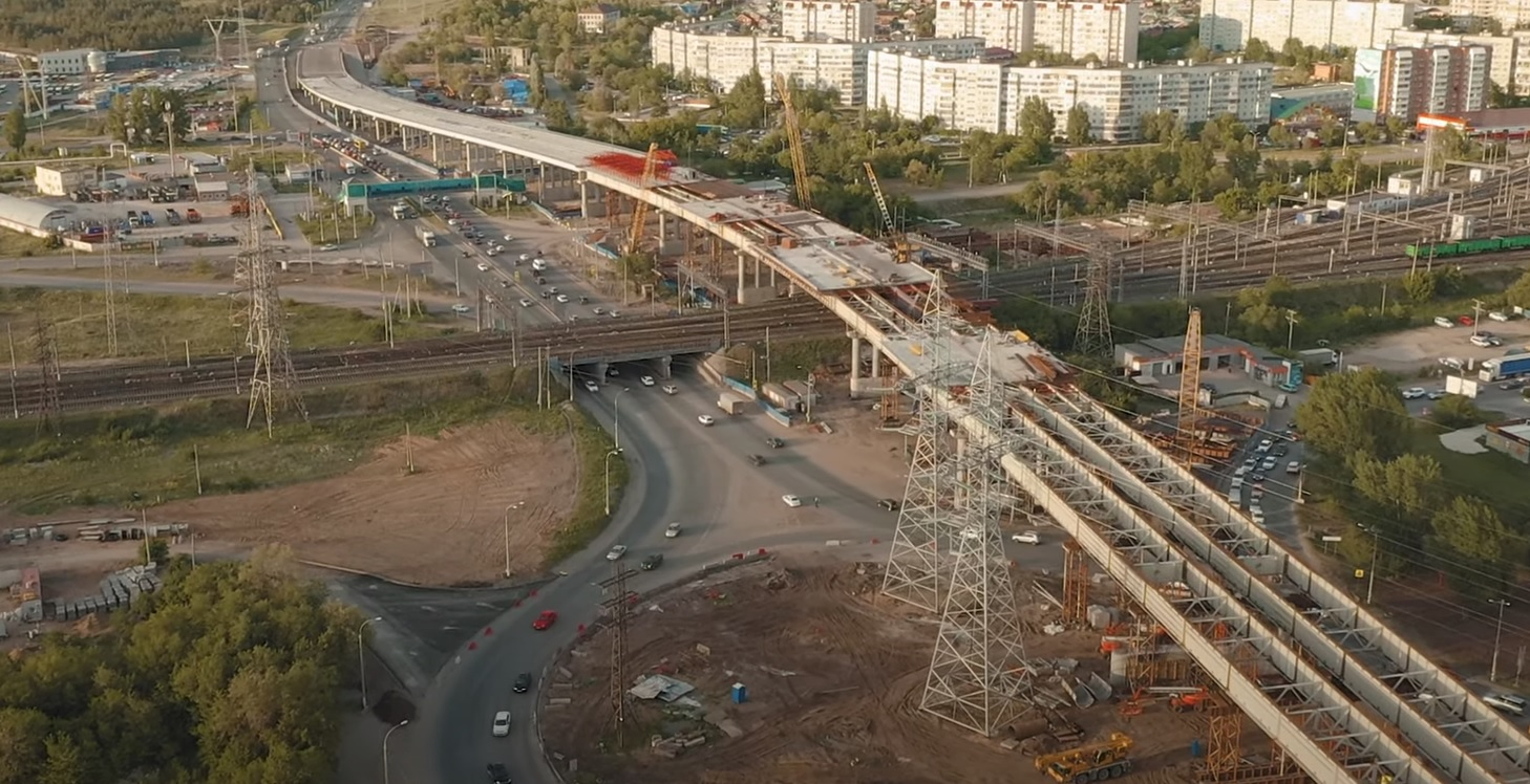 Названы сроки открытия развязки на М-5 в Тольятти