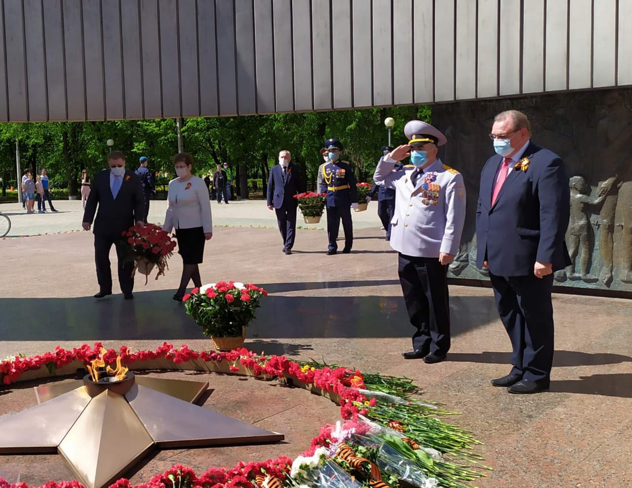 В Тольятти почтили память героев Великой Отечественной войны