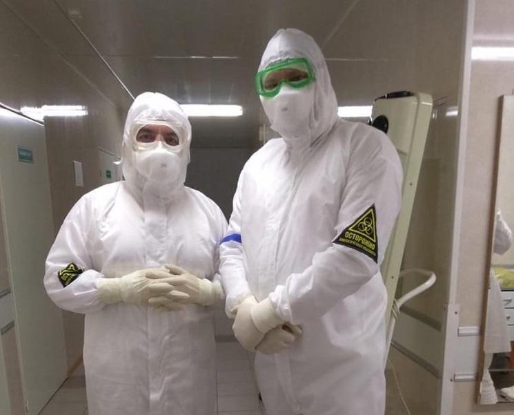 Самарская область получила 34 тысячи защитных костюмов для медиков