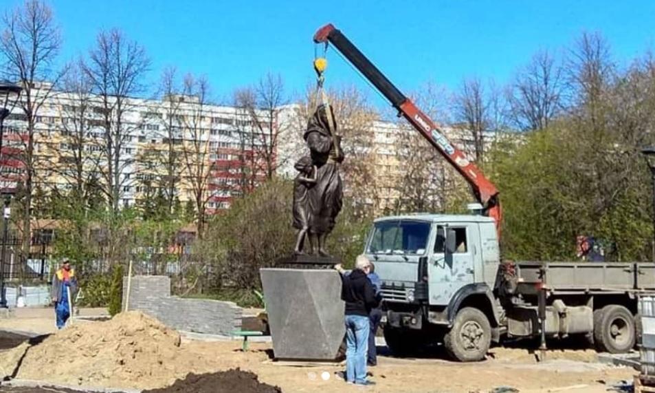 В Тольятти установлен Памятник солдатке