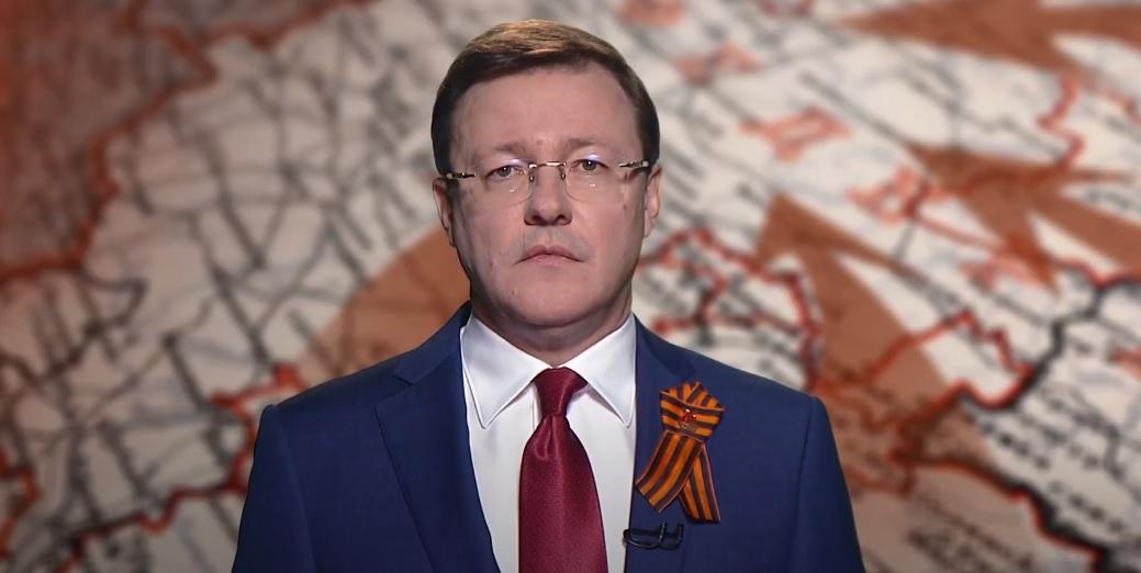 Дмитрий Азаров поздравил жителей региона с праздником Великой Победы