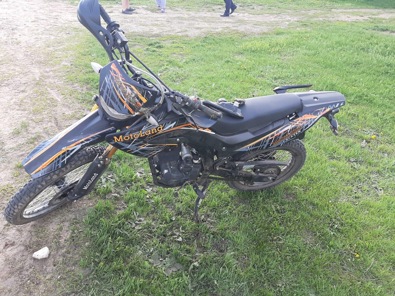 Тольяттинский школьник получил переломы в аварии с мотоциклом
