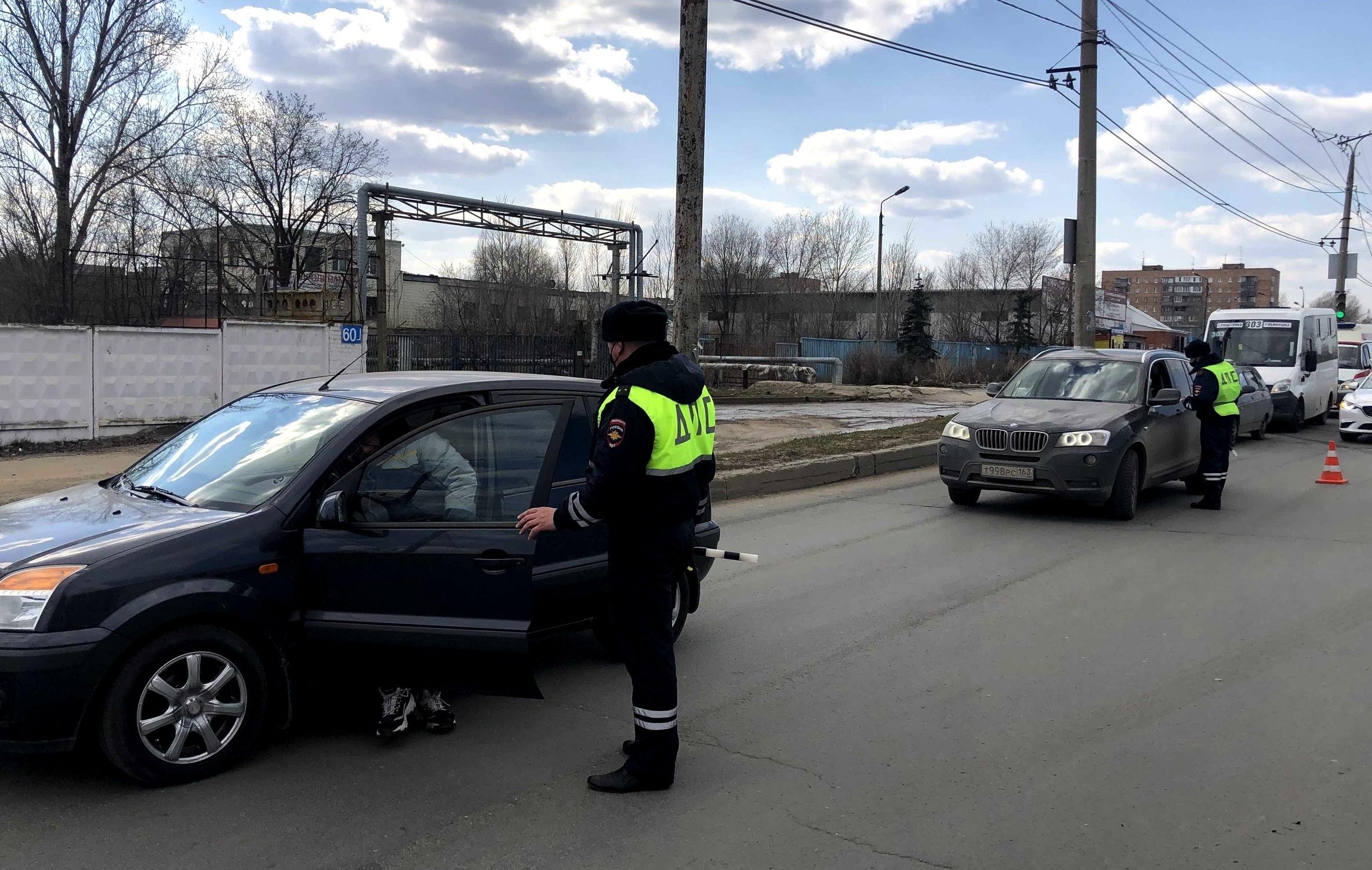 До конца мая ГИБДД проведет в Тольятти 8 спецрейдов