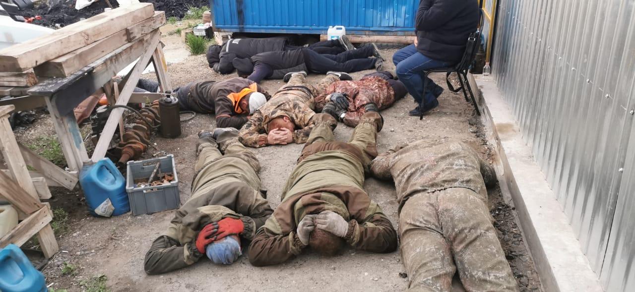 В Самарской области поймали банду похитителей нефти