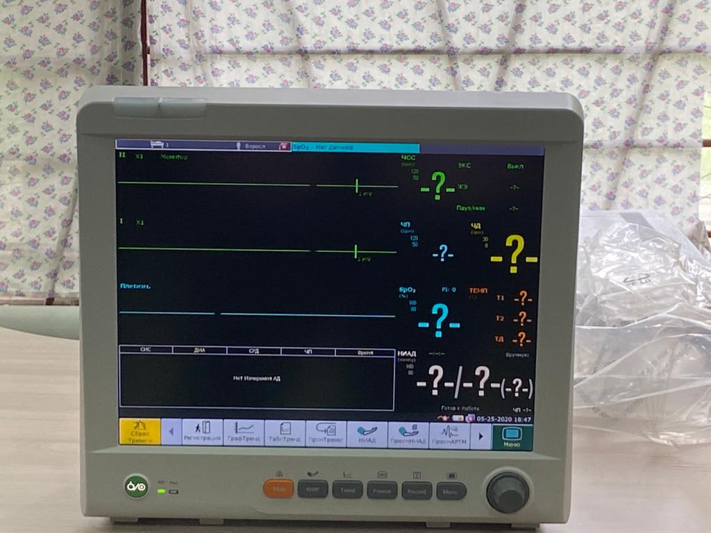 Тольяттинский Медгородок получил более 100 мониторов пациентов