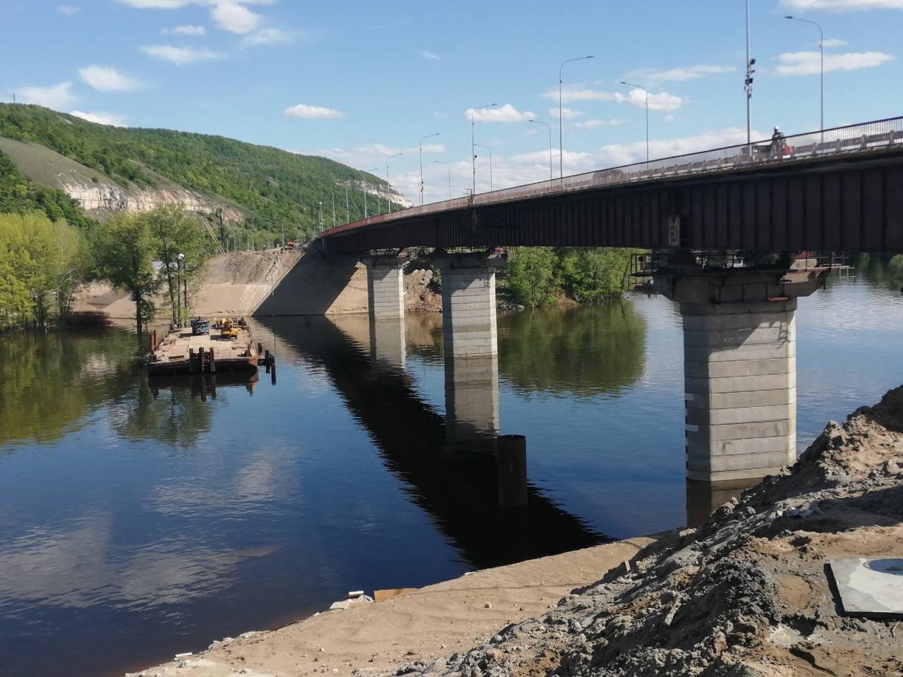 В Самарской области реконструкция моста через реку Сок может закончиться досрочно