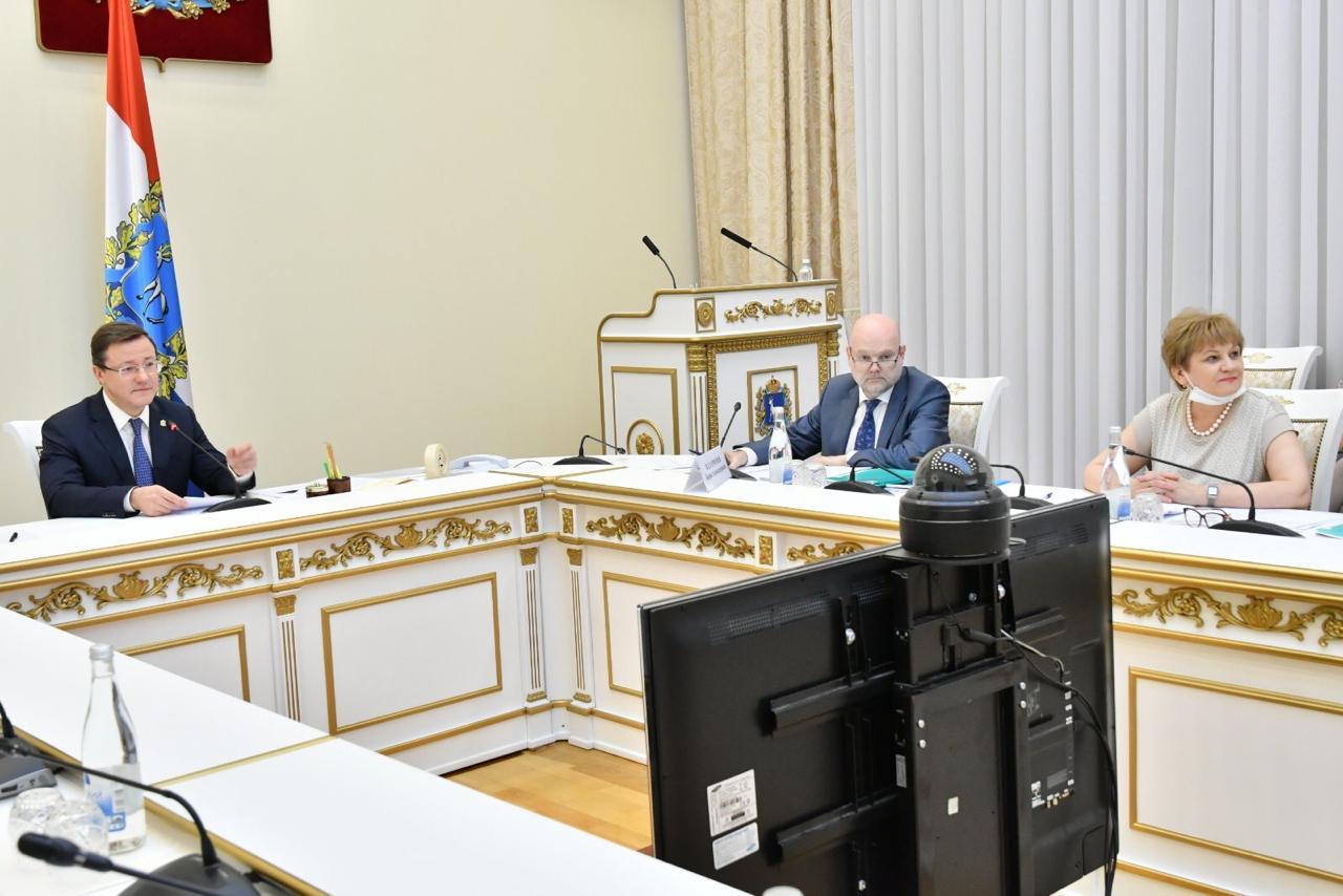 Губернатор Самарской области и министр культуры РФ обсудили реализацию нацпроекта в регионе