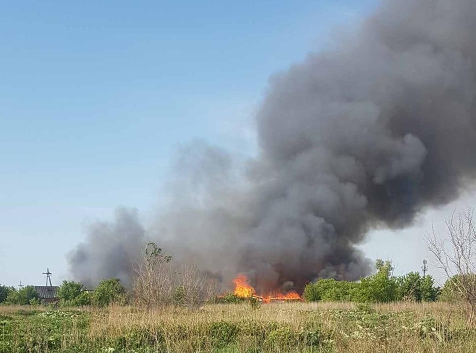 В Самарской области горят 11 частных домов