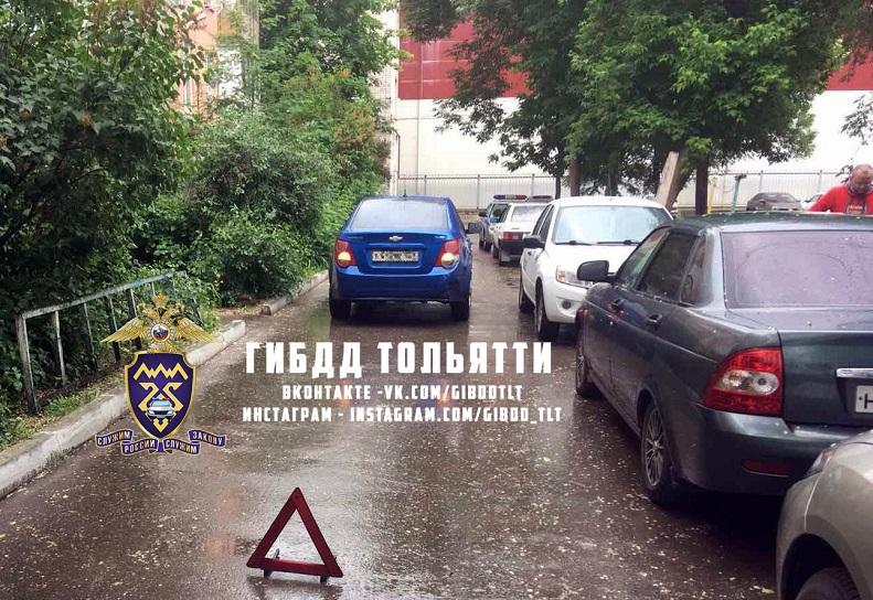 В Тольятти 7-летний мальчик госпитализирован после наезда машины