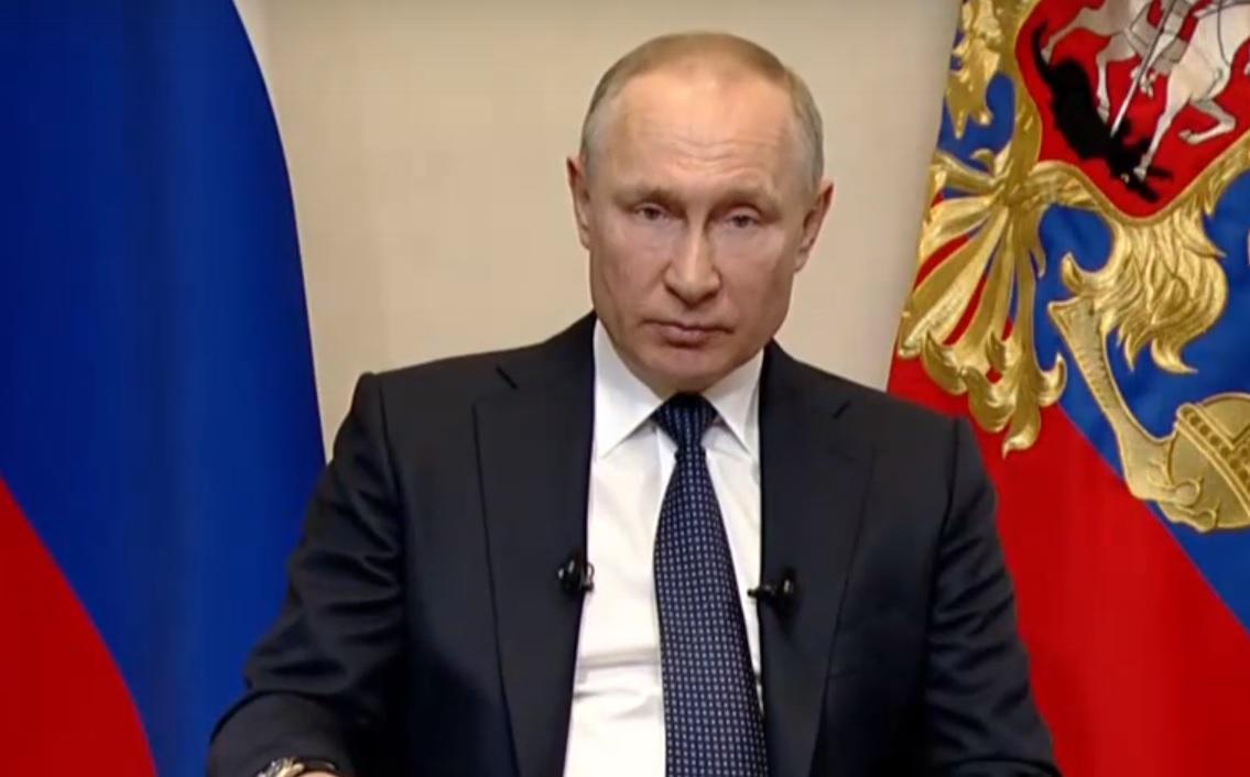 Владимир Путин выступит с новым обращением к гражданам