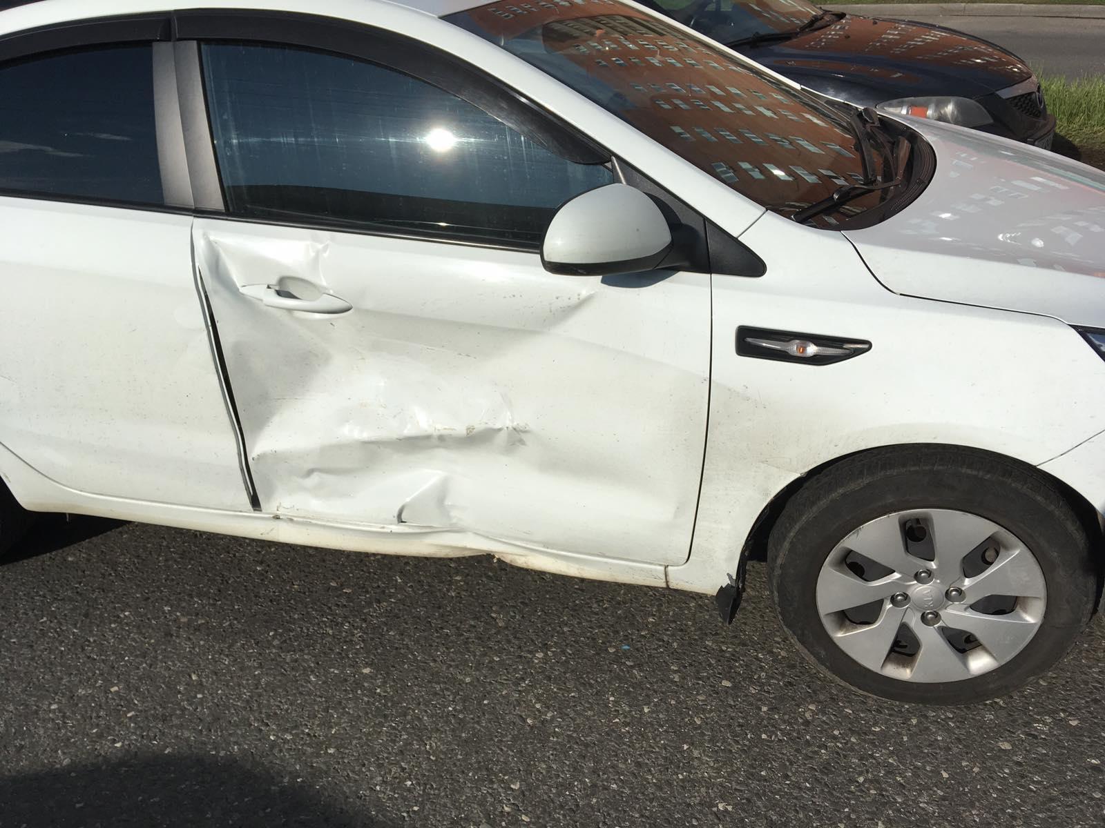 В Тольятти в аварии двух машин пострадал пассажир