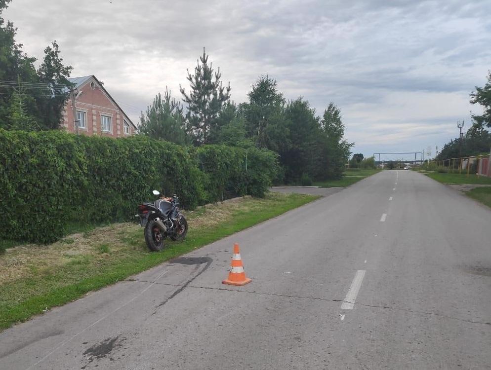 Под Тольятти мотоцикл без номеров сбил ребенка