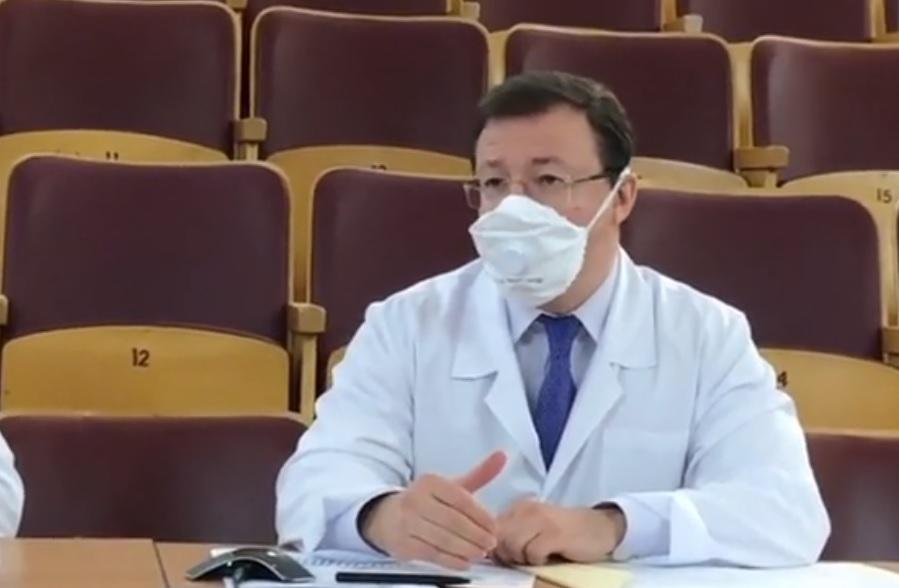 Азаров и Ренц обсудили ситуацию с COVID-19 в Тольятти
