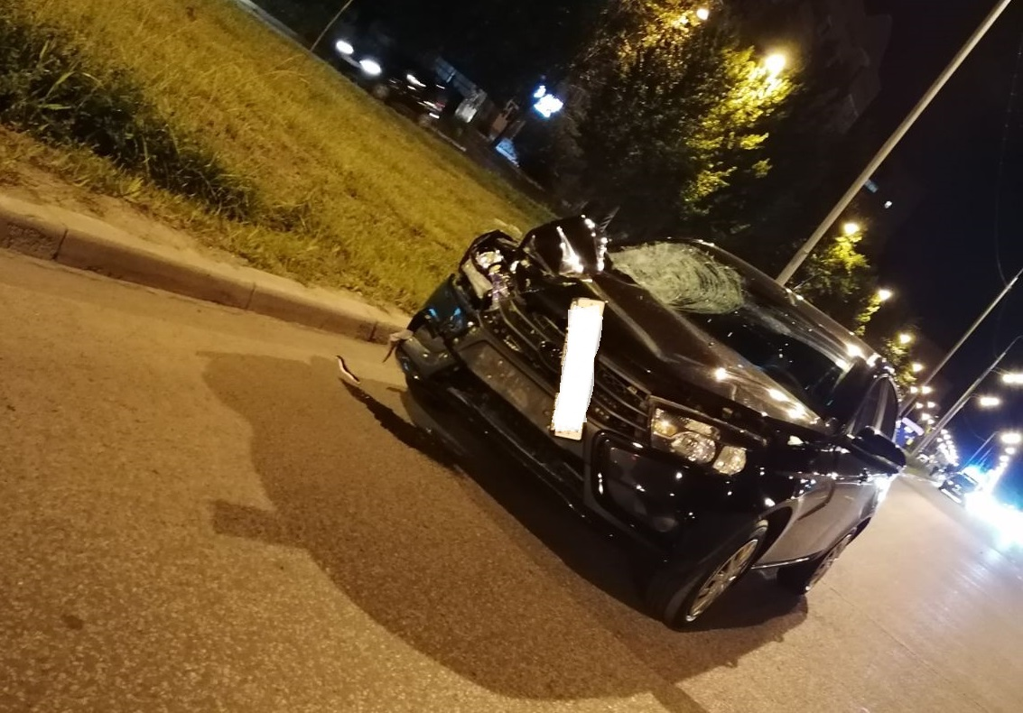 Вечером в Тольятти машина насмерть сбила девушку