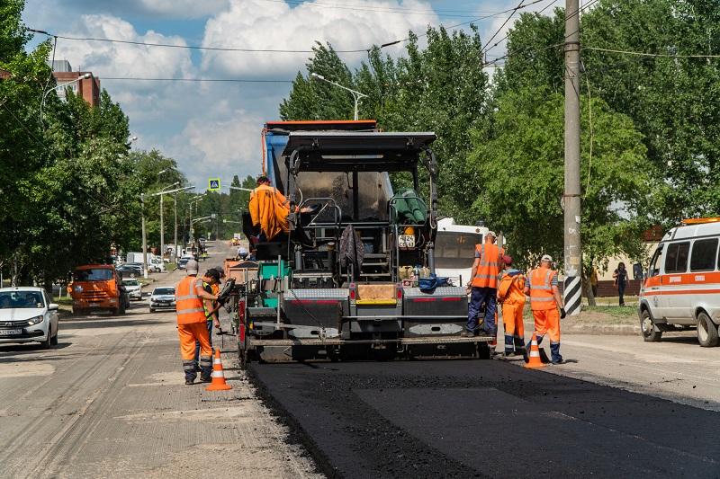 В Тольятти дорожные работы ведутся на семи улицах