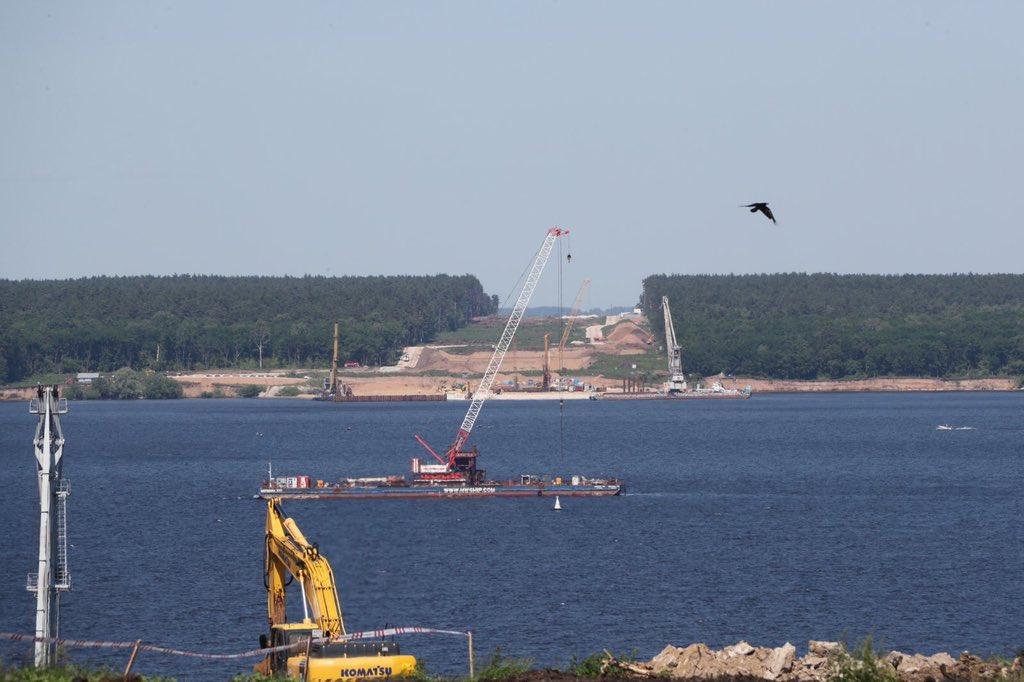 Дмитрий Азаров: Начинаются основные работы по створу Волжского моста